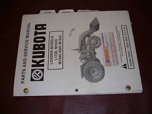 Kubota Parts And Service Manual For Loaders