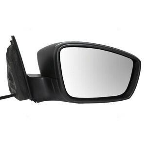 New Passengers Manual Remote Side Mirror Glass Housing 11 16 Vw Jetta