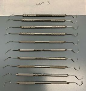 Dental Double Ended Explorer Gently Used Lot Of 10