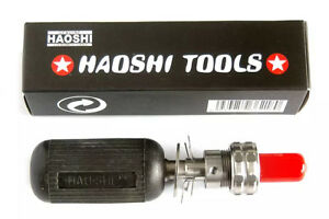 Haoshi 7 Pins Stainless Steel Tubular Civil Lock Plug Opening Hand Tool Sets