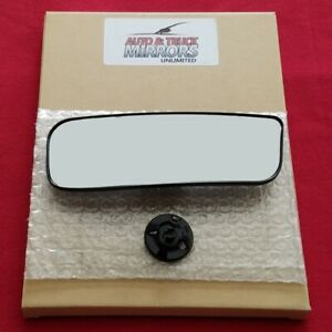 Mirror Glass With Backing For Nv1500 2500hd 3500hd Driver Side Replacement Lower