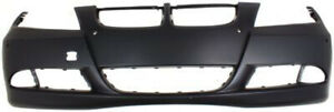 Primed Front Bumper Cover Replacement For 2006 2008 Bmw 3 Series