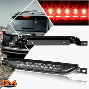 For 11 17 Jeep Grand Cherokee Led Third 3rd Tail Brake Light Stop Lamp Smoked