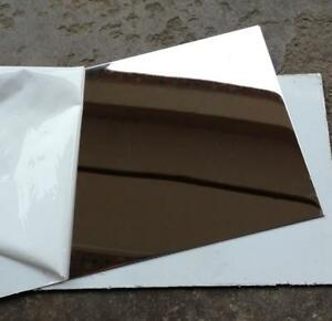Us Stock 2pcs 0 8mm X 5 X 5 304 Stainless Steel Mirror Polished Plate Sheet
