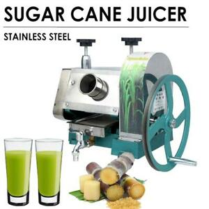 Manual Sugar Cane Ginger Gpress Juicer Machine Commercial Extractor Mill Squeeze