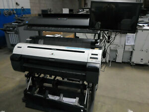 Canon Imageprograf Ipf 760 36 Wide Format W Scanner Ct