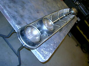 1963 Mercury Monterey Grill 63 Mercury Grill 4 Chrome Headlight Bezel Fd19 4 19