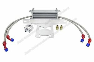 Cxracing 13 Row Oil Cooler Kit For 2015 Ford Mustang Ecoboost I4 2 3l Turbo