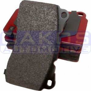 Carbotech Front Brake Pads Xp10 For 03 15 Evo 8 9 X Ct1001a Xp10