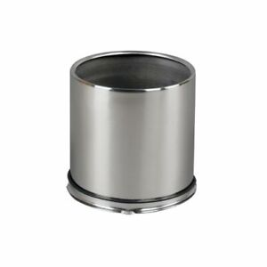 American Racing Center Cap 4 25 Dia Push through Open Polished Stainless Qty 4