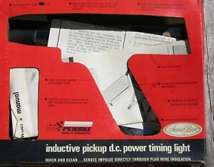 Vintage Sears Penske Inductive Timing Light Original Box Instructions 282138