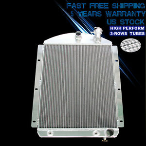Cc4146ch 3 Row Radiator For 1941 1946 Chevy Truck Small Block V8 1942 43 44 1945
