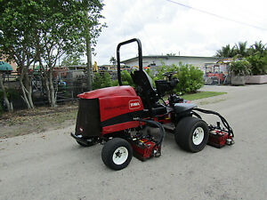 Toro 5510 Fairway Reel Lawn Mower Kubota Diesel 100 Cut Dpa Reels Model 03680