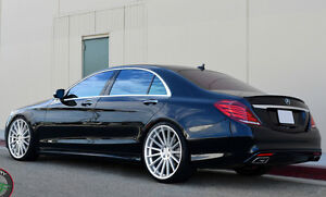 20 Rf15 Polished Wheels 20x8 5 20x10 Fit Mercedes S400 S550 S600 Cl500 E350