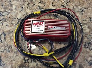 Msd 6a Ignition Box Clean Unscratched Mint