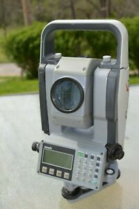 Gowin Tks 202 Electronic Total Station Use Working Condition