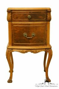 Rway Northern Furniture French Regency Burled Wood 18 Nightstand 6942