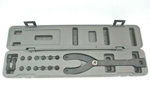 Mac Cam Tool Spanner Wrench For Holding Camshaft 7 Pairs Of Adapters Included
