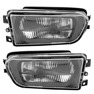 New Pair Set Fog Light Lamp With Rectangular Lens Assembly Sae Bmw Z3 5 Series