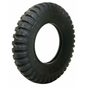 Pair 2 Coker Firestone Military Tires 7 00 15 Bias Ply Blackwall 587117