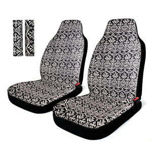 Infanzia Baja Front Seat Covers Saddle Blanket Auto Seat Cover With Seat Belt
