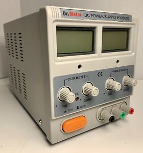Dr Meter Dc Regulated Power Supply Hy3005d No Power Cord 30v