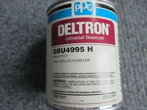 Ppg Deltron Dbu Shale Poly Universal Basecoat Dbu4995 Pint