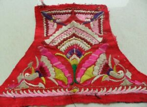 Exotic Tribe Chinese Miao People S Old Hand Embroidery
