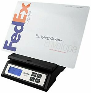 Accuteck Postal Shipping Scale W extra Large Display Batteries And Ac Adapter