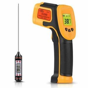 Infrared Thermometer Digital Ir Laser Thermometer Temperature Gun 26 f 1022 f