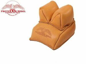 Protektor Model - #13 Leather Rabbit Ear Rear Shooting Rest Bag