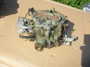 1973 Pontiac 455 Quadrajet Carburetor Carb Gto Firebird Grand Prix 7043262 Q Jet
