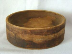 Antique Carved Wood Industrial Factory Hat Mold Crown Form