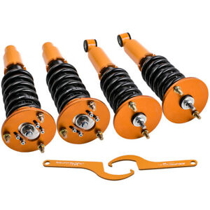 Fit Mitsubishi Eclipse 1995 1997 1998 1999 2nd Gen Front Rear Coilover Shocks