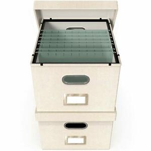 File Boxes For Hanging Files Decorative Filing Organizer With Lid Filing Box
