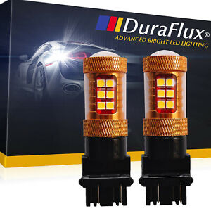 Duraflux 3157 4114 Osram 140w High Power Led Backup Reverse Light Bulbs 6k White