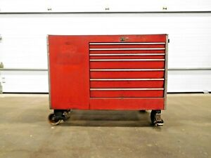 Mo 2901 Snap On Tool Box W 13 Drawer And 2 Door Cabinet