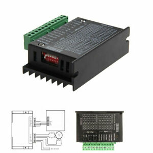 10pack Cnc Single Axis 4a Tb6600 Phase Hybrid Stepper Motor Driver Controller