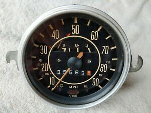 Volkswagen Vw Bug Super Beetle 1970 71 Original Vdo Speedometer