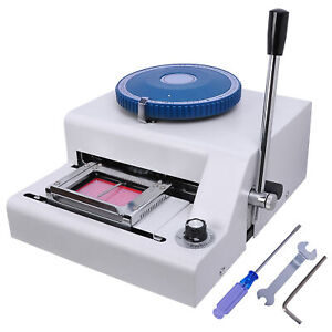 Pre Sale 70 character Pvc Card Embosser Laser Engraved Dial Stamping Credit Id