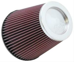 K n Air Filter Filtercharger Conical Cotton Gauze Red 6 Dia Inlet Ea Rf 1041