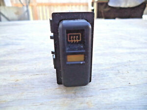 1987 Chrysler Conquest Tsi Defroster Switch Rear Window