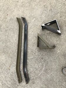 Wc Dodge 1942 1943 Wc53 Dodge Carryall Antenna Mount And Brush Guard Repo