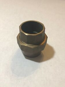 2 Inch Brass Copper Union Coupling Sweat Solder Fitting