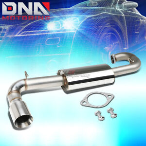 For 11 16 Scion Tc Agt20 4 Double wall Muffler Tip Performance Axleback Exhaust