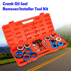 Universal Vehicle Auto Camshaft Crank Oil Seal Removal Tool Kit Carbon Steel New