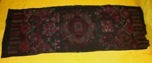 Old Exotic Chinese Miao People S Hand Cross Stitch Embroidery