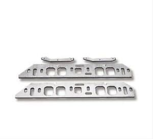 Weiand Spacers Intake Manifold Aluminum 10 20 Height Bbc Oval Port Heads Pair
