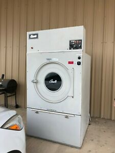 Cissell L44cd42e Dryer 110lb 480v Electric 60kw Used Heater