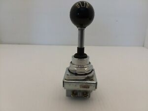 Eaton Toggle Switch 3 position Spring Return From Both 2no